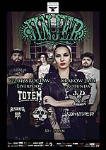 Jinjer, Totem, Sceptic, Frontside, J.D. Overdrive, Bethrayer, Etherdrown, Whizper, metalcore, groove metal