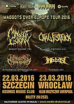 Maggots Over Europe Tour 2016, Maggot Colony, Intravenous Contamination, Oral Fistfuck, In Demise, metal, death metal, progressive death metal