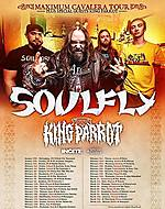 Soulfly, King Parrot, Incite, Lody Kong, PW Events