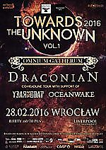 Draconian, Omnium Gatherum, Year Of The Goat, Oceanwake, Klub Liverpool, Wrocław,  Iron Realm Productions, Blackened Art, doom metal