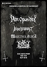 Chainsaw Metal Slaughter vol. XXIV: Walpurgisnacht, Chainsaw Metal Slaughter, black metal, death metal, metal, Non Opus Dei, Bloodthirst, Martwa Aura, Ritual Bloodshed