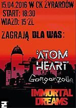 Gorgonzolla, Immortal Dreams, Atom Heart, hard rock, alternative metal, nu metal, rock