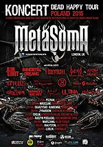 Metasoma, rock, metal, heavy metal, Immortal Dreams, Skrzydlaści, Aim Limit, Nine 69 Bricks, silgate, Ultima, Elizabeth, Nine Cats, Mad Pilots,  Dead Insemination, Gypsy Caravan, Tallib, Luxtorpeda, Happysad, Grubson