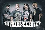 Whorrecane, The Blackout, metal, Vedonist, Lostbone, Afterload, Exlibris