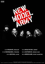 New Model Army, Justin Sullivan, post punk, alternative rock, folk rock, Winter