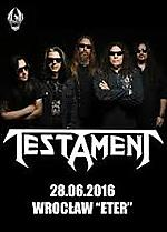 Testament, Raging Death, Knock Out Productions, Eter, thrash metal