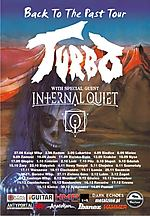 Turbo, Back To The Past Tour, heavy metal, thrash metal, Kawaleria Szatana, Internal Quiet, When The Rain Comes Down