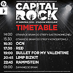 Rammstein, Limp Bizkit, Bullet For My Valentine, metalcore, Capital Of Rock