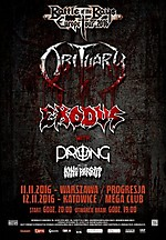 Obituary, Ten Thousand Ways To Die, death metal, thrash metal, industrial, grindcore, sludge metal, Exodus, Prong, King Parrot