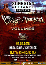 Born Of Osiris, Veil Of Maya, Volumes, Black Crown Initiate, deathcore, metalcore, experimental metal, death metal