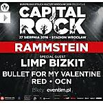 Rammstein, Limp Bizkit, Gojira, RED, OCN, Capital Of Rock, Stadion Miejski, Wrocław.