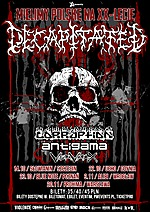 Decapitated, metal, death metal, Corruption, Antigama, Vervrax, Mielimy Polskę na XX-lecie