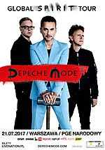 Depeche Mode, Global Spirit Tour, Spirit, new wave, synth pop, alternative rock, Dave Gahan, Martin Gore, Andy Fletcher