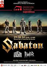 Sabaton, Illusion, Hunter Zajezdnia MPK Wrocław, wRock For Freedom