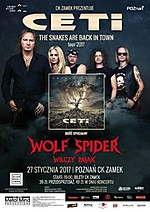 CETI, The Snakes Are Back In Town, Snakes Of Eden, heavy metal, Wolf Spider