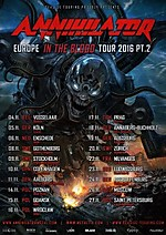 Annihilator, Mason, Alibi Klub, Knock Out Productions