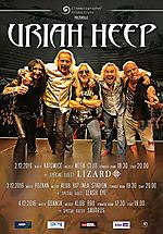 Uriah Heep, hard rock, Leash Eye, Sautrus, Lizard