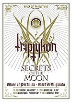 Triptykon, Celtic Frost, black metal, doom metal, Mord'A'Stigmata, Blaze Of Perdition, Secrets Of The Moon