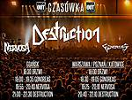 FamilyFriendlyGig, Destruction, Nervosa, Gonoreas, thrash metal, power metal