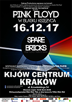 Pink Floyd, Spare Bricks, Pink Floyd w blasku księżyca, progressive rock, alternative rock, space rock