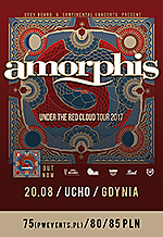 Amorphis, Under The Red Cloud Tour 2017, Under The Red Cloud, melodic death metal, progressive metal, gothic metal
