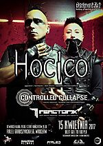 Hocico, Controlled Collapse, Reactor7x, Firlej, electro, dark electro