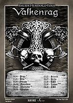 Valkenrag, Ancient Carnage Tour, NordWind, melodic death metal, viking death metal