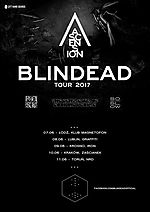 Blindead, Ascension Tour 2017, Ascension, metal, rock, Rosk, The Gentle Art of Cooking People, So Slow, post black metal, post rock, psychodelic rock, noise rock
