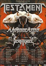 Testament, Annihilator, Death Angel, Knock Out Productions, thrash metal