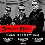 Global Spirit Tour, Depeche Mode, Spirit, Dave Gahan, Martin Gore, Andy Fletcher