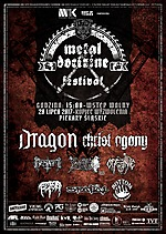 Metal Doctrine Festival 2017, death metal, black metal, Dragon, Christ Agony, Besatt, Inferno, Bottom, Offence, Fetor, Spatial