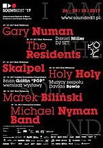 David Bowie, Soundedit 2017, Holy Holy, Marek Biliński, The Residents