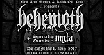 Mgła, Merry Christless, Behemoth, black metal, death metal