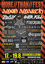 More Than Fest, More Than Fest 2017, Edguy, Overkill, Pain, Dark Funeral, Powerwolf, Wintersun, Masterplan, Gorgoroth, British Lion