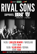 Rival Sons, rock, classic rock, alternative rock, RusT, Tiny Taste
