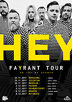Hey, Fayrant Tour, Good Taste Productions