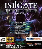 Isilgate, Fight Your Demons Tour 2017, folk metal, symphonic metal