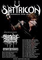 Satyricon, Suicidal Angels, Fight The Fight, Kwadrat Kraków, Knock Out Productions.