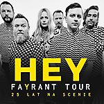Hey, Fayrant Tour, Good Taste Production, Hala Orbita, Wrocław.