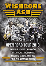Wishbone Ash, Open Road Tour 2018, rock, classic rock, progressive rock
