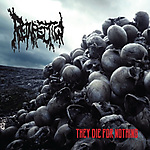 Reinfection, They Die For Nothing, brutal death metal, gore grind