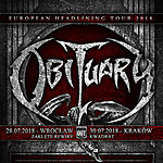 Obituary, Deserted Fear, Planet Hell, Knock Out Productions, Zaklęte Rewiry, Kwadrat.