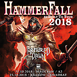 HammerFall, Armored Dawn, Kwadrat, A2, Knock Out Productions, power metal, metal, thrash metal