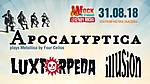 Apocalyptica, Luxtorpeda, Illusion, wROCK for Freedom 2018, rock, metal