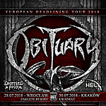 Obituary, Deserted Fear, Planet Hell, Knock Out Productions, Kwadrat, Zaklęte Rewiry.