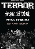 Terror, Siberian Meat Grinder, Fight Them All, hardcore, punk, metal