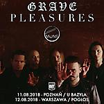 Grave Pleasures, Mons, rock, postpunk, death rock, indie rock, shoegaze