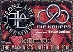 Front Line Assembly, Die Krupps, Stary Klasztor, EBM, industrial, electro