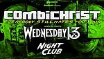 Combichrist, Wednesday 13, Night Club, Zaklęte Rewiry, P.W.Events.