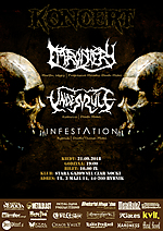 Effrontery, Underule, Infestation, death metal, metal